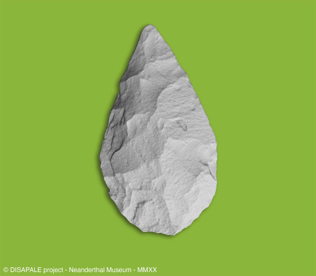 ネアンデルタール人博物館のDISAPALEプロジェクト。EinScan Pro 2X Plusが石器時代をオンラインにする